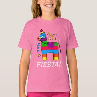 Cartoon Piñata Burro Fiesta T-Shirt