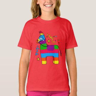 Cartoon Pinata Burro T-Shirt