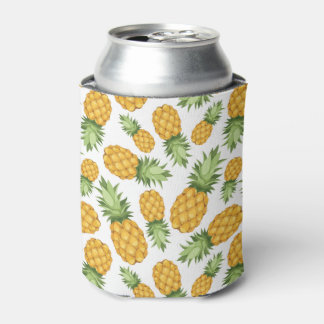Cartoon Pineapple Pattern Can Cooler