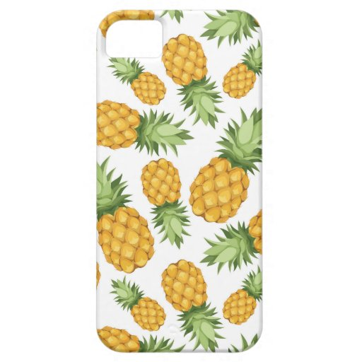 Cartoon Pineapple Pattern iPhone 5/5S Covers