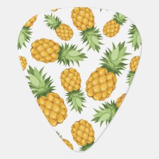 Cartoon Pineapple Pattern Guitar Pick