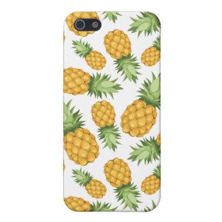 Cartoon Pineapple Pattern iPhone 5 Case
