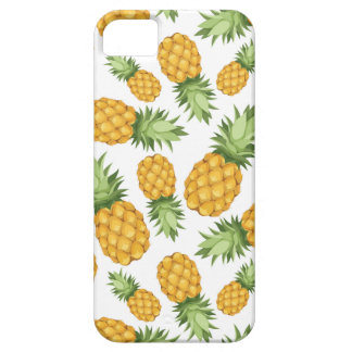 Cartoon Pineapple Pattern iPhone 5 Cover