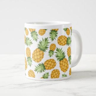 Cartoon Pineapple Pattern Large Coffee Mug