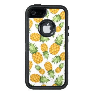 Cartoon Pineapple Pattern OtterBox iPhone 5/5s/SE Case