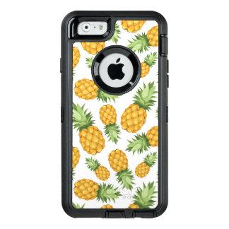 Cartoon Pineapple Pattern OtterBox iPhone 6/6s Case