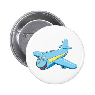 Cartoon plane buttons