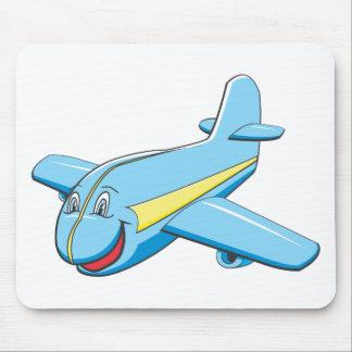 Cartoon plane mousepad