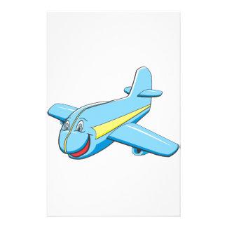 Cartoon plane personalized stationery