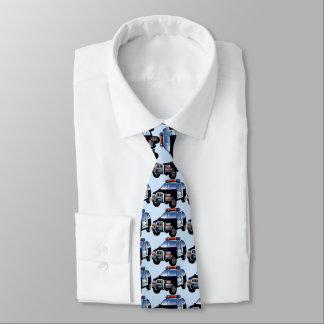 Cartoon Police SUV Neck Tie