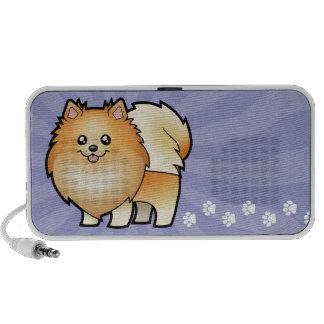 Cartoon Pomeranian Portable Speaker