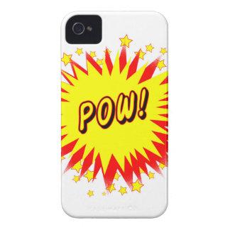 Cartoon Pow iPhone 4 Covers