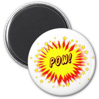 Cartoon Pow Magnet