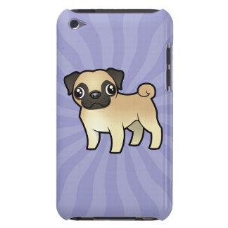 Cartoon Pug iPod Case-Mate Case