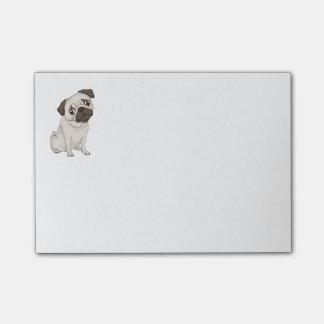 Cartoon Pug Puppy Dog Post IT Sticky Notes