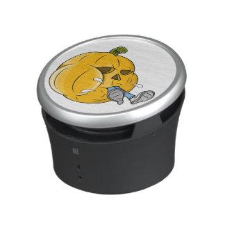 Cartoon Pumpkin Eating Kid Bluetooth Speaker