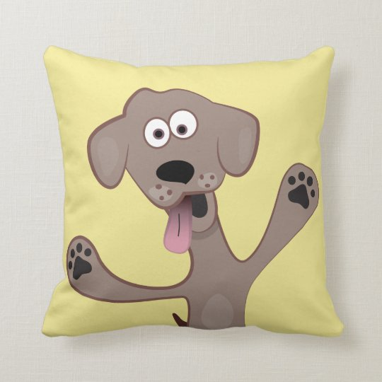 Cartoon Puppy - Critter Cushion