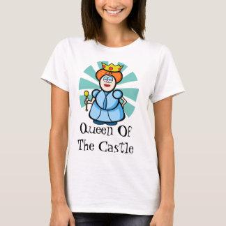"Cartoon ""Queen of the castle"" T-Shirt"