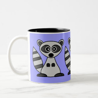 Cartoon Raccoon Coffee Mug