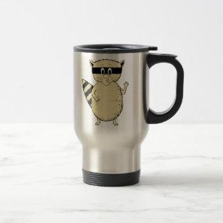 Cartoon Raccoon Coffee Mug