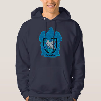 Cartoon Ravenclaw Crest Hoodie