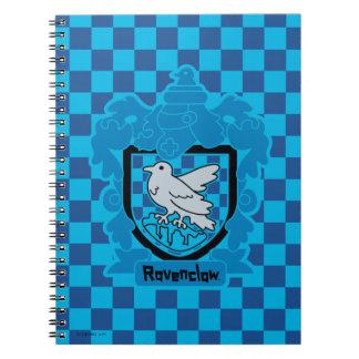 Cartoon Ravenclaw Crest Notebooks