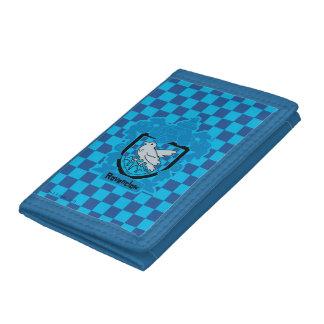 Cartoon Ravenclaw Crest Tri-fold Wallet