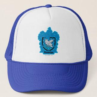 Cartoon Ravenclaw Crest Trucker Hat