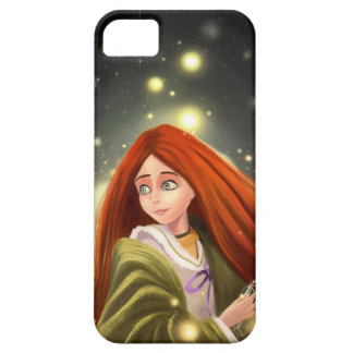 cartoon red haired girl iPhone 5 Cases