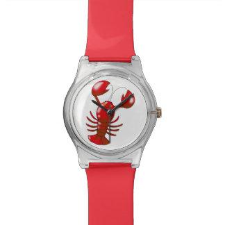 cartoon red lobster watch