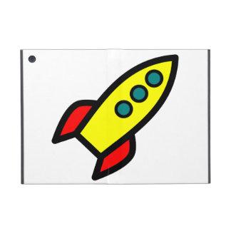 Cartoon Rocket iPad Mini Case