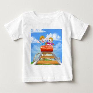 Cartoon Roller Coaster Baby T-Shirt