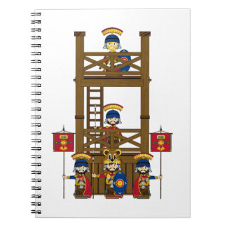 Cartoon Roman Centurion Soldiers Notebooks