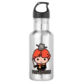 Cartoon Ron Weasley and Pigwidgeon 532 Ml Water Bottle