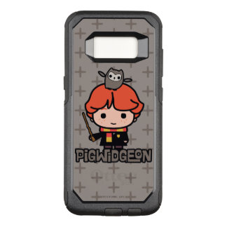 Cartoon Ron Weasley and Pigwidgeon OtterBox Commuter Samsung Galaxy S8 Case
