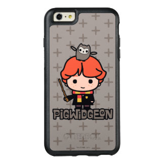 Cartoon Ron Weasley and Pigwidgeon OtterBox iPhone 6/6s Plus Case
