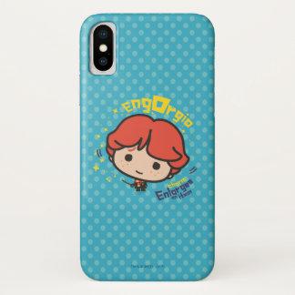 Cartoon Ron Weasley Engorgio Spell iPhone X Case