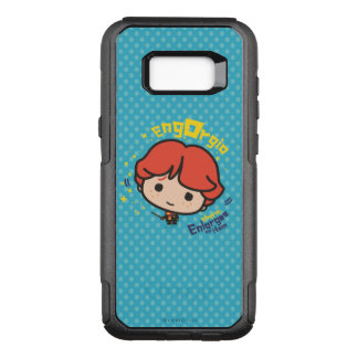 Cartoon Ron Weasley Engorgio Spell OtterBox Commuter Samsung Galaxy S8+ Case