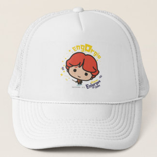 Cartoon Ron Weasley Engorgio Spell Trucker Hat
