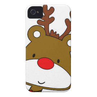 CARTOON RUDOLF CHRISTMAS THEME iPhone 4 CASES