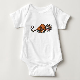 Cartoon Running Tiger Baby Apparel Baby Bodysuit
