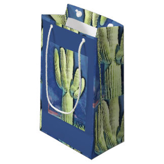 Cartoon Saguaro Gift Bag