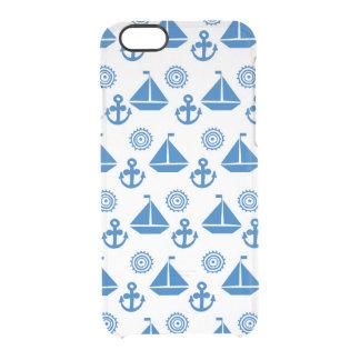 Cartoon Sail Boat Pattern