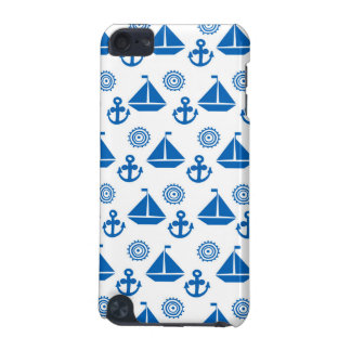Cartoon Sail Boat Pattern iPod Touch (5th Generation) Cases