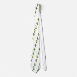 Cartoon Saint Patricks Day Leprechaun Tie