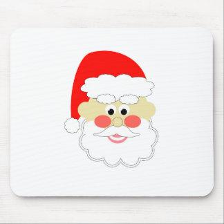 cartoon santa red christmas kids mousepads