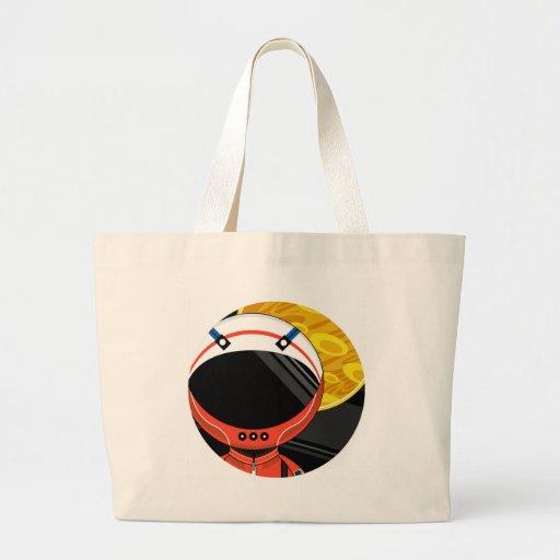Cartoon Science Fiction Spaceman Bag