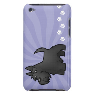 Cartoon Scottish Terrier Barely There iPod Covers