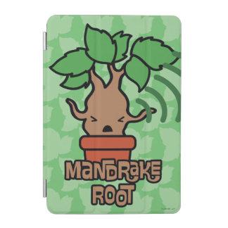 Cartoon Screaming Mandrake Character Art iPad Mini Cover