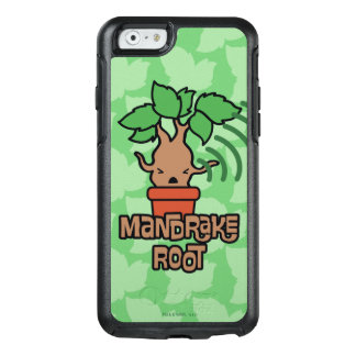 Cartoon Screaming Mandrake Character Art OtterBox iPhone 6/6s Case